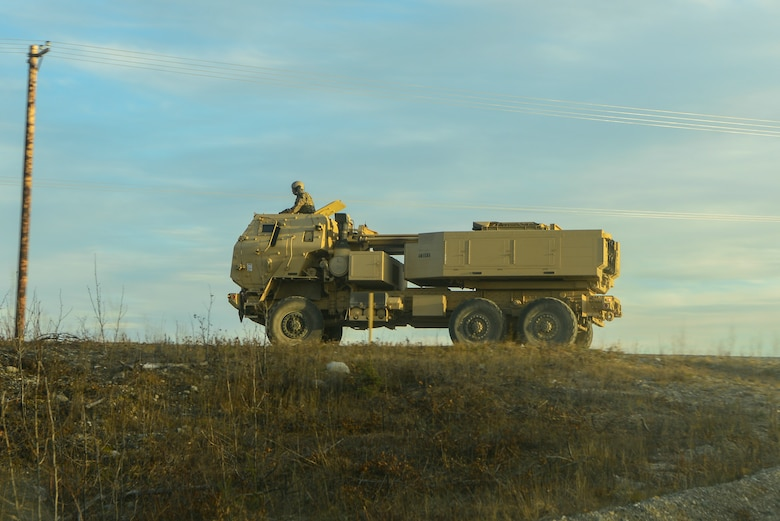 The exercise challenged the unit to complete a HIMARS rapid infiltration within a time limit.