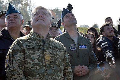 144th Fighter Wing participates in Clear Sky 2018at Starokostiantyniv Air Base, Ukraine.