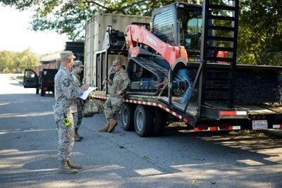 Ga. Air Guard provides route clearance in wake of Hurricane Michael