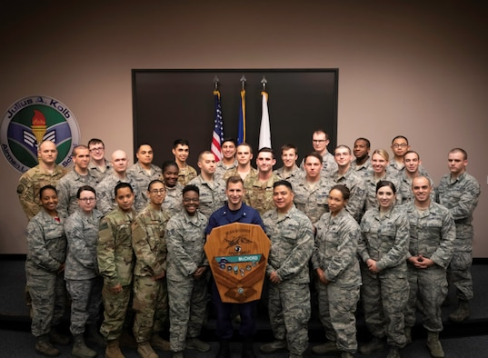 Congratulations to the graduates of Airman Leadership School Class 18-G, October 11, 2018, at Joint Base Lewis-McChord, Wash.