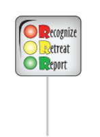 Recognize, retreat and report are key actions to take if you encounter any items that look like munitions.