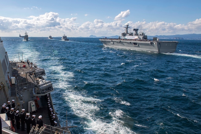 Ronald Reagan Strike Group joins International Fleet Review