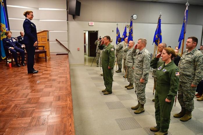 Brig. Gen. Wendy B. Wenke assumed the role of Assistant Adjutant General, Air, Delaware Air National Guard Oct. 13.