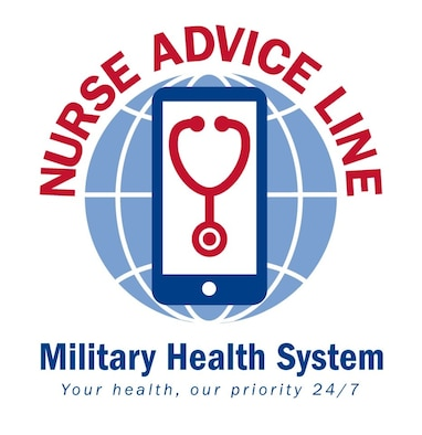 As of April 1, 2018 the MHS Nurse Advice Line expanded to include additional health care support services. The advice line is available by phone, web chat or video chat to beneficiaries who are anywhere in the world with a military treatment facility – including Guam, Puerto Rico, Cuba, South Korea, and Japan. (Graphic by Military Health System Communications Office)