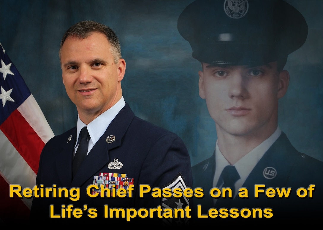 Retiring Chief Passes on a Few of Life's Important Lessons