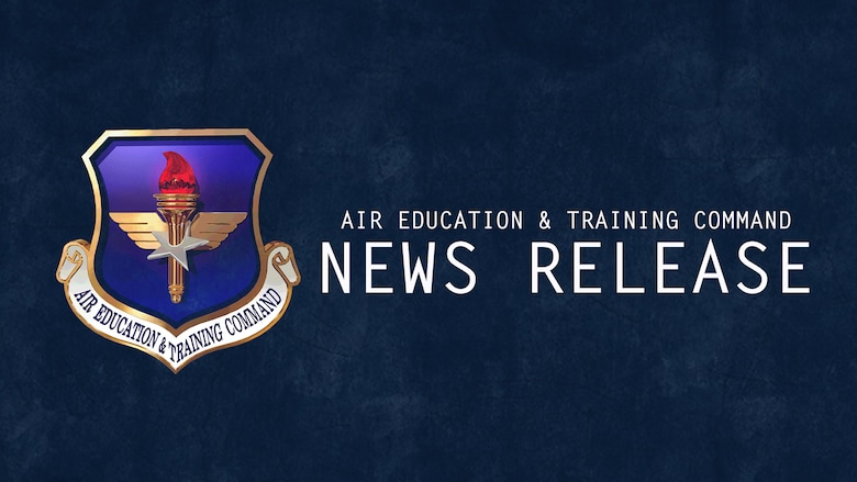 Air Education and Training Command graphic for press releases. AETC posts press releases for timely news of potentially wide interest. (U.S. Air Force photo illustration by SSgt. Charles Pons)