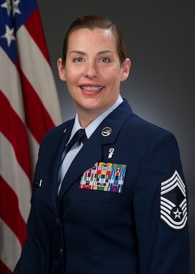 Chief Master Sgt. Viviana Gatica Official photo