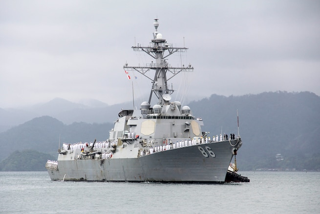 USS Shoup Conducts Fiji Port Visit as part of OMSI Deployment