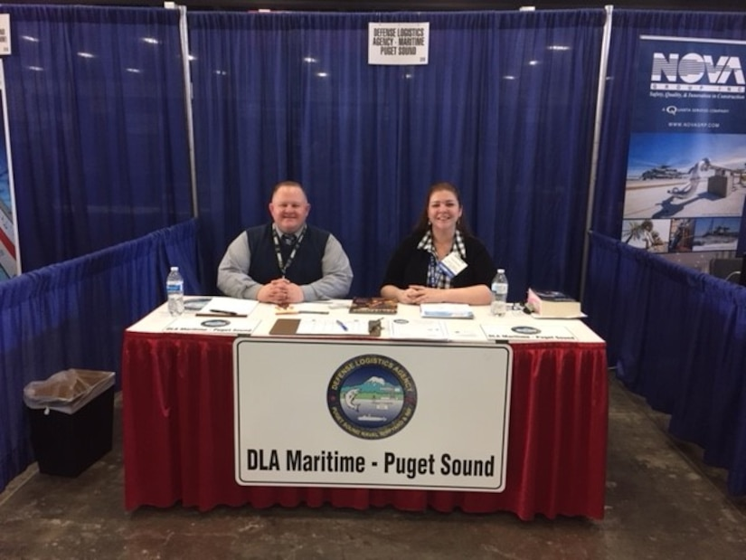 DLA Maritime Puget Sound at Small Business event