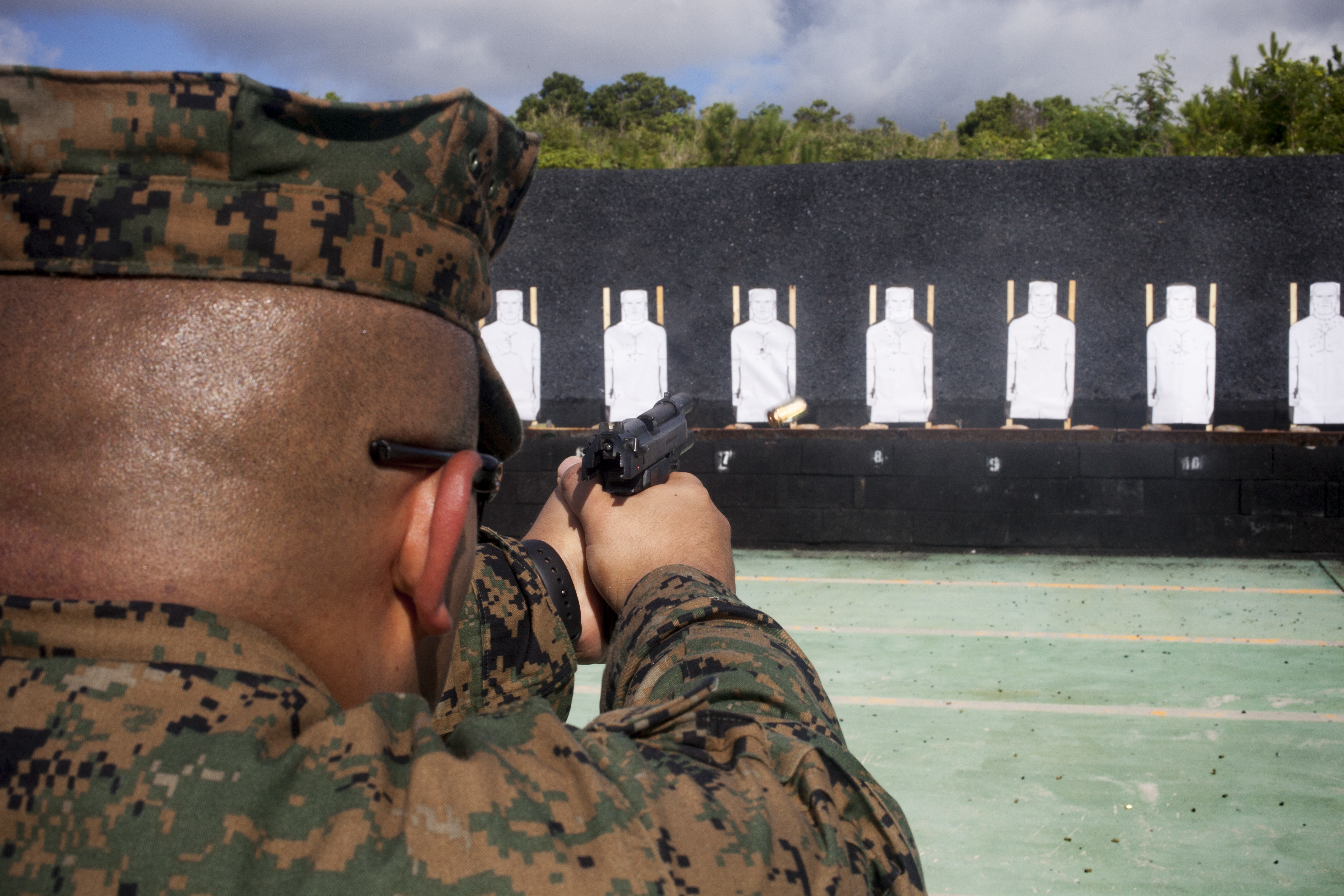 The Marine Corps Combat Pistol Program > United States
