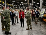 DLA Chief of Staff visits Distribution Headquarters, tours the installation and EDC