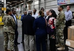 OSD Sustainment Fellows visit DLA Distribution, tour EDC