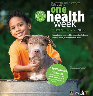 Veterinary 'One Health Week' offers discounts for pet-related