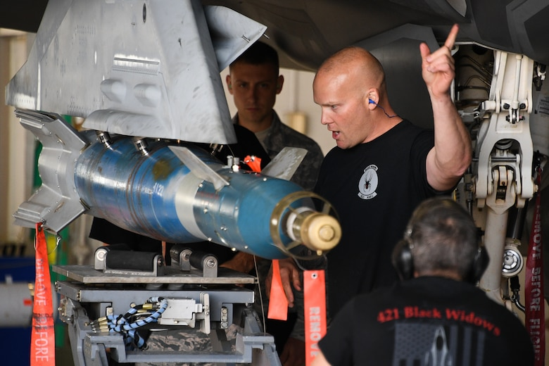 388th and 419th Fighter Wing F-35A load competition