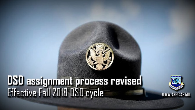 "AFPC implements advanced notification for two Developmental Special Duty assignments in order to increase transparency of the DSD assignment process. This change supports Air Force Chief of Staff Gen. David Goldfein's ""Revitalizing Squadrons"" effort, ensuring commanders are aware of assignments given to their Airmen."