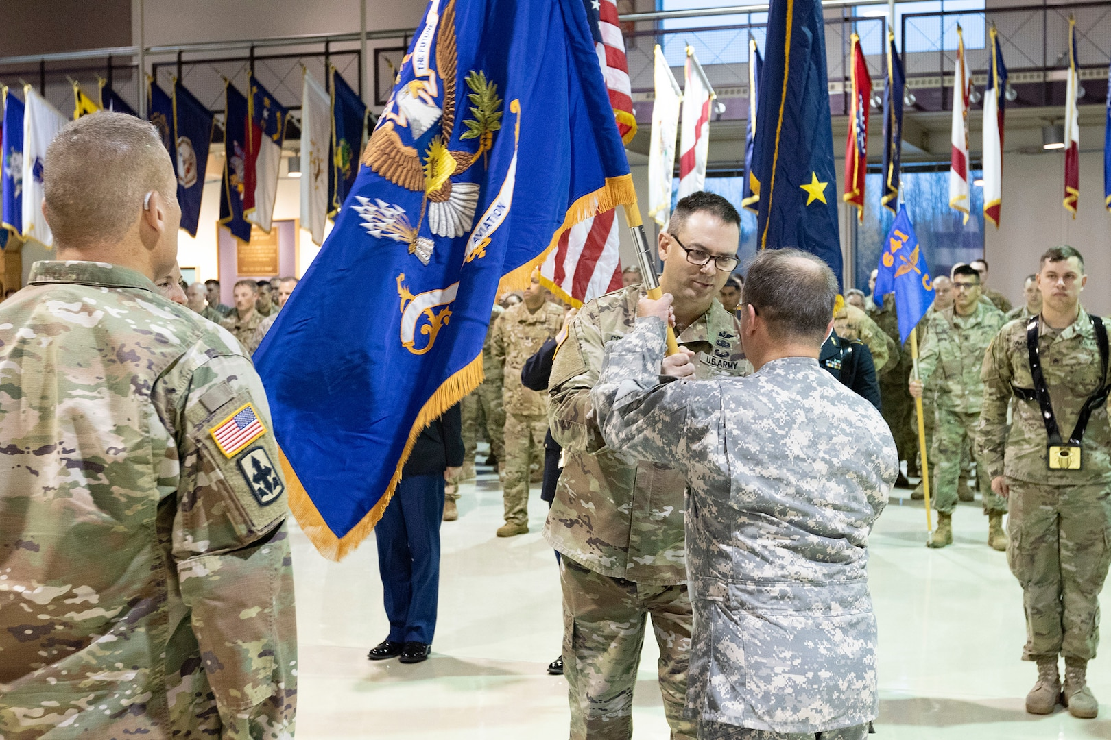 1-207th Arctic Eagles clutch on to new commander