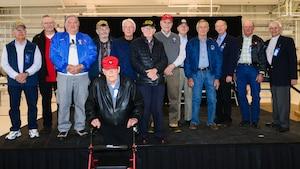 Group photo of the COANG Vietnam veterans