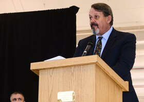 Rick Crandall narrates the 50th Anniversary ceremony