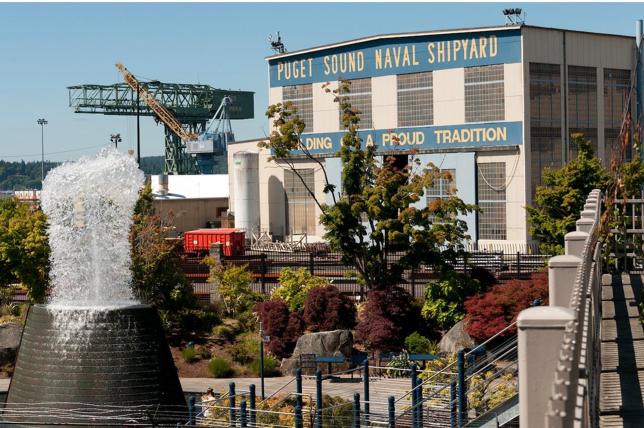 The Puget Sound Naval Shipyard