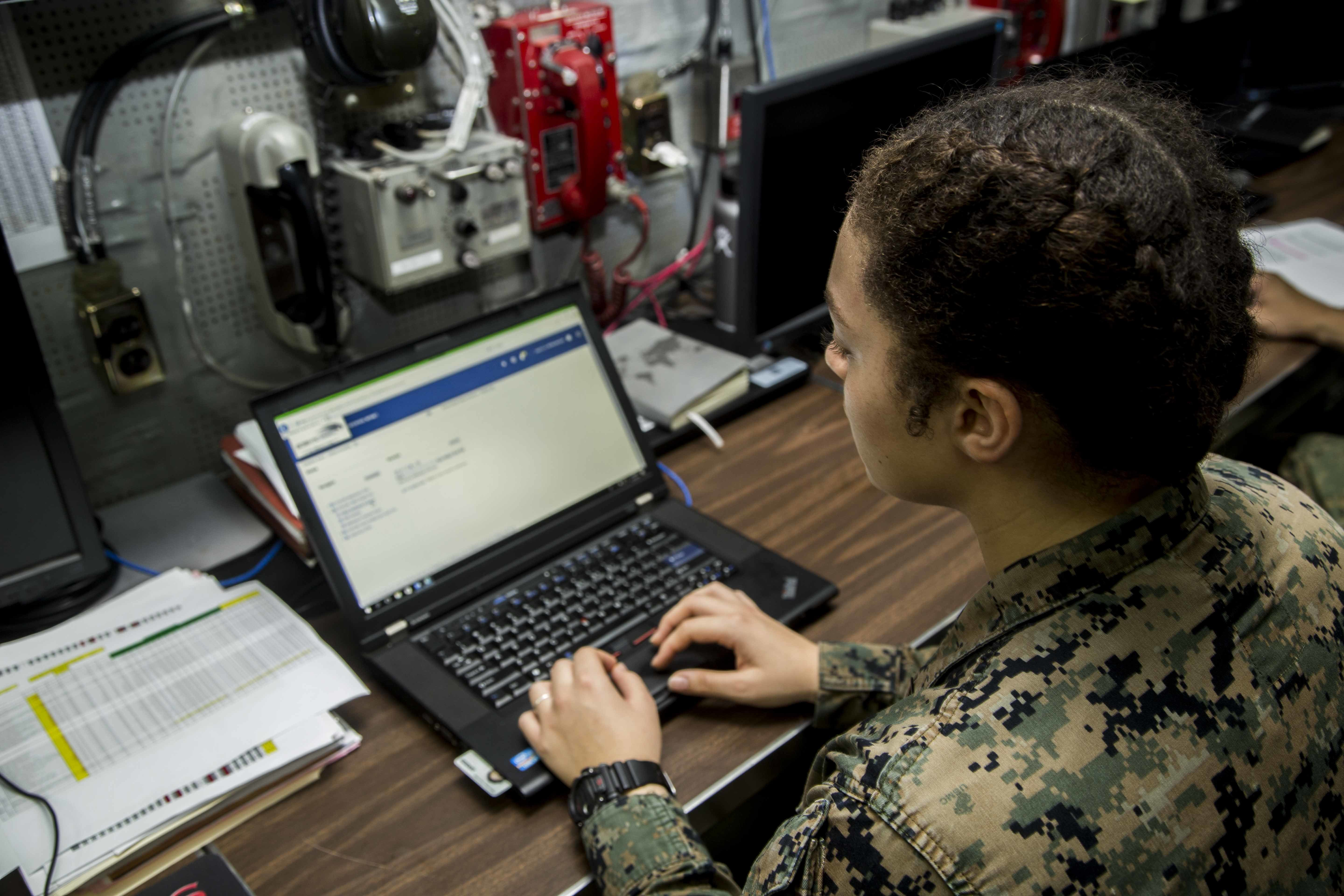 Marine Corps upgrades GCSS-MC, reduces time from data to