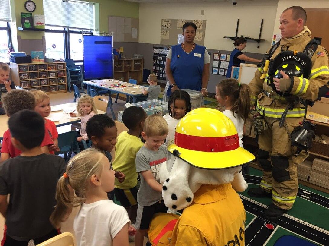 Fire Prevention Week at the Child Development Center