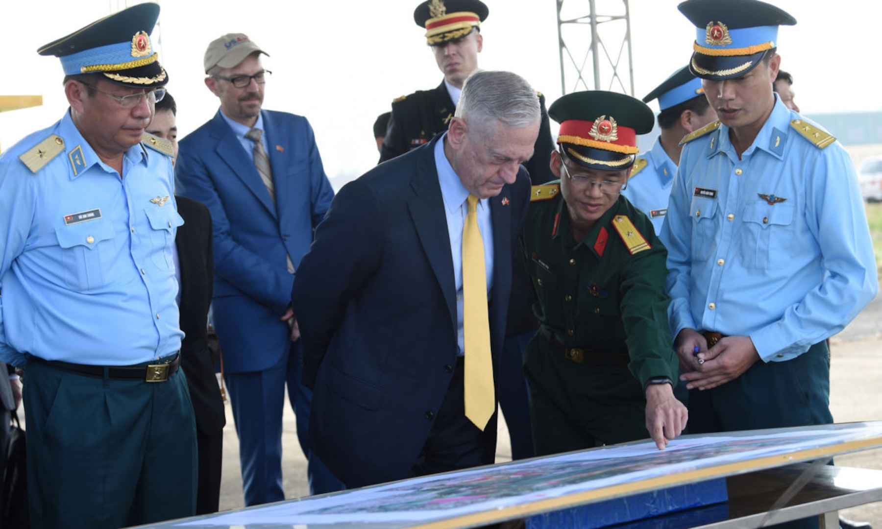 U.S. Secretary of Defense Makes Second Visit to Vietnam in 2018, Highlights Growing U.S.-Vietnam Partnership