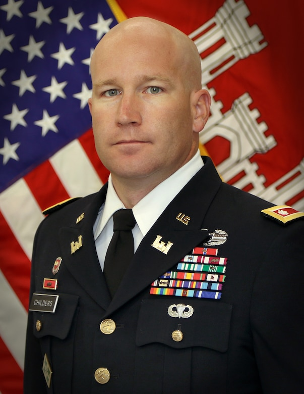 Lt. Col. Richard Childers is the Deputy Commander, Tulsa District, U.S. Army Corps of Engineers.