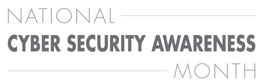 National Cybersecurity Awareness Month banner