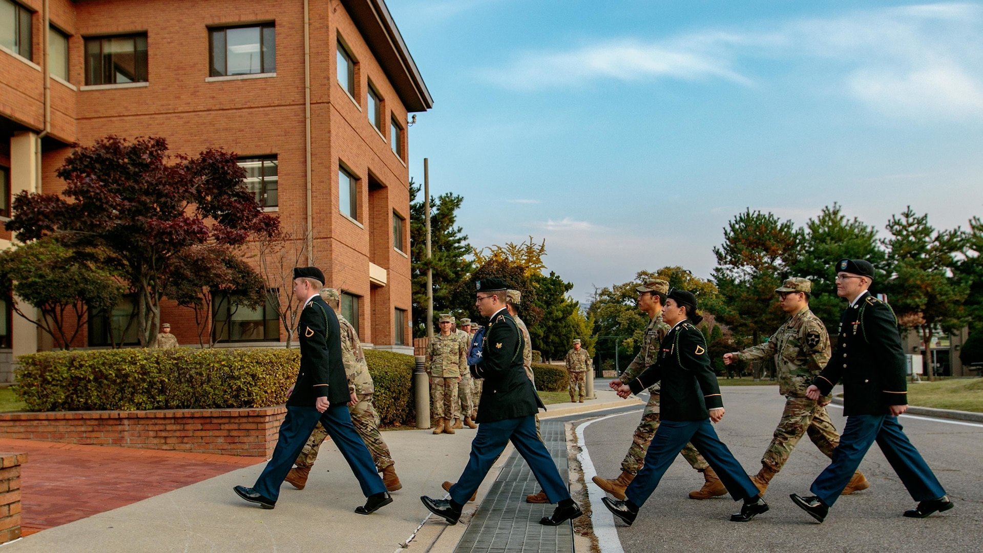 Freeman Hall closure ceremony marks final 2ID milestone at CRC Command