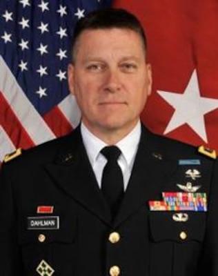 Major General Richard Dahlman, Mobilization Assistant to the Deputy Commander