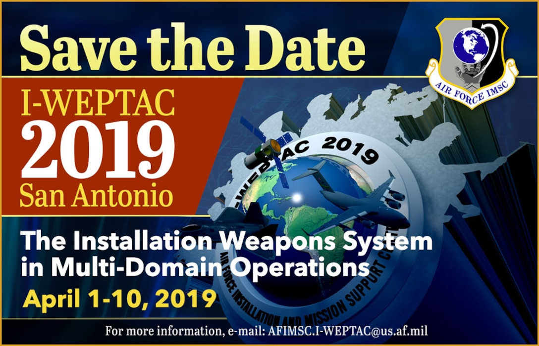 I-WEPTAC Save the Date April 1-10, 2019