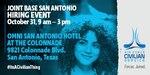 JBSA hiring event Oct. 31, 9 a.m. to 3 p.m. at the Omni San Antonio Hotel.