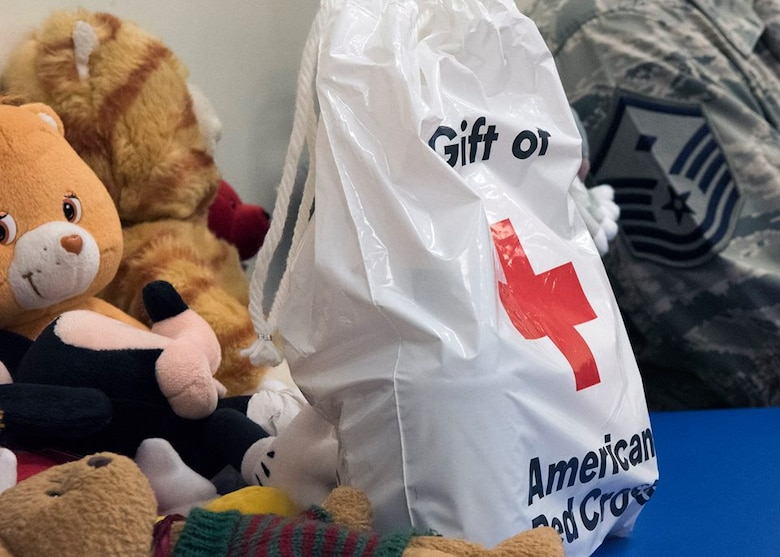 Donations were given to Tyndall Air Force Base, Fla. families during an Emergency Family Assistance Center at Patrick Air Force Base, Fla. on Oct. 17, 2018. The EFAC provided a forum to connect Tyndall AFB families displaced by Hurricane Michael with Patrick AFB agencies.