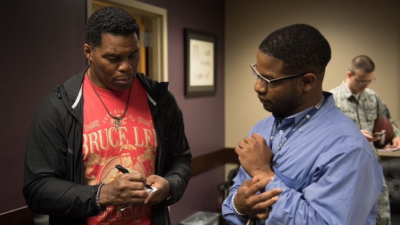 Herschel Walker tackles mental health