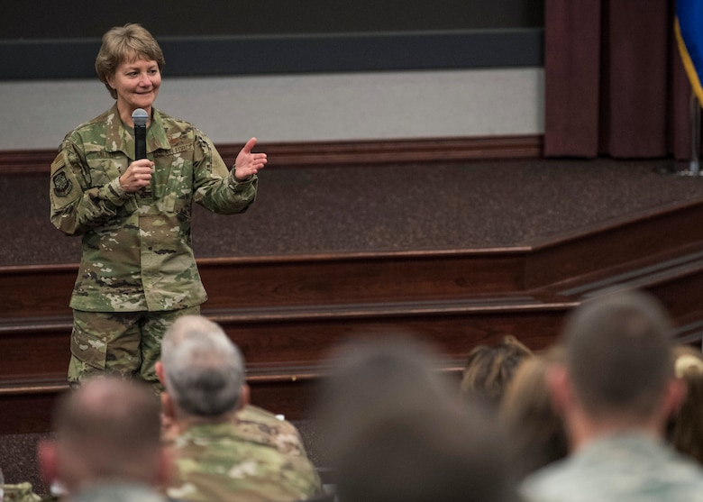 AMC's fall Phoenix Rally offered a platform for commanders, directors, command chiefs and leadership's spouses to understand Miller's vision and how each AMC unit and Airman fits into the National Defense Stretegy.