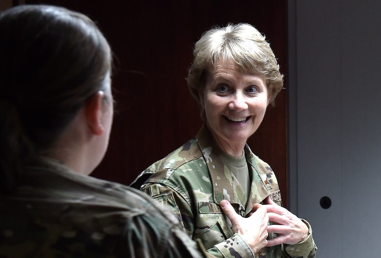 Air Mobility Command Commander Gen. Maryanne Miller personally thanked team members of the 621st Contingency Response Wing, during Phoenix Rally, for their exceptional work in support of Hurricane Michael relief.