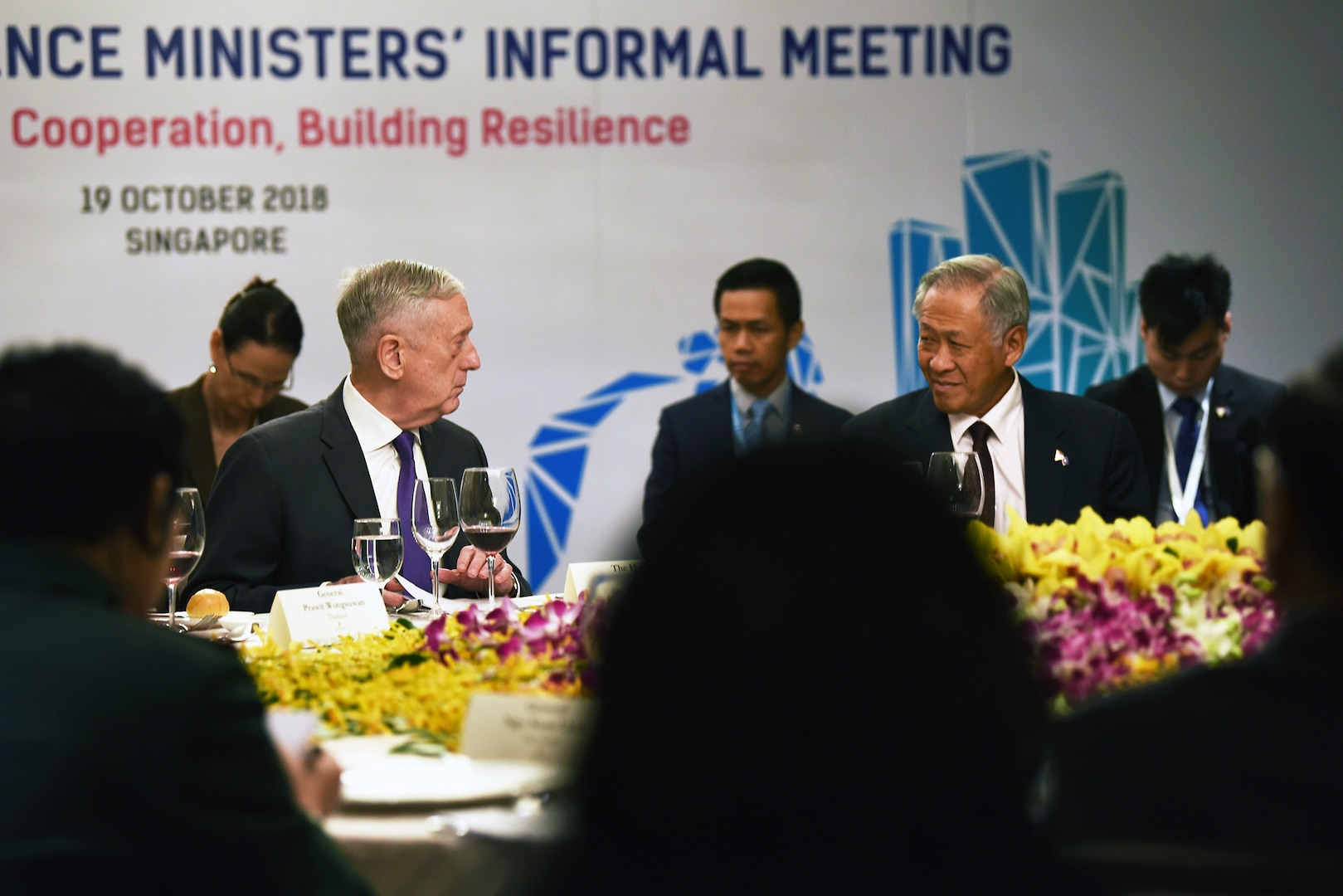 Readout of Secretary Mattis' Meeting with Singaporean Minister of Defence Dr. Ng Eng Hen