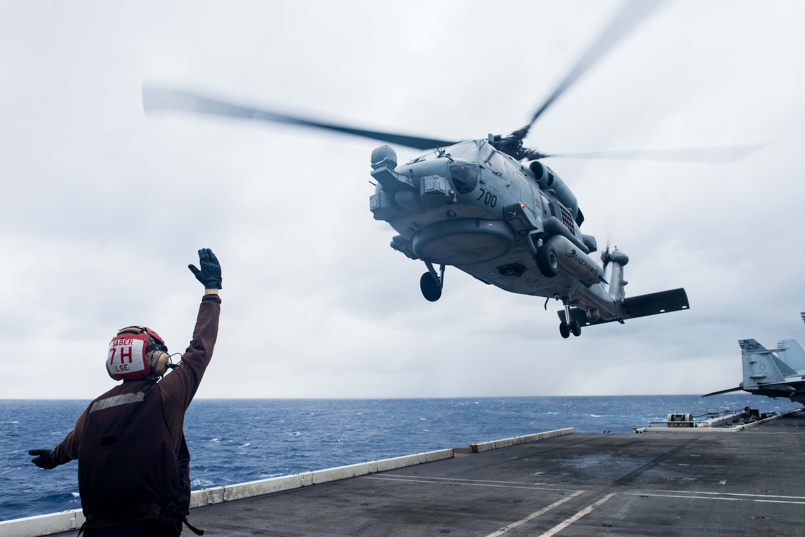USS Ronald Reagan Resumes Flight Operations following Helicopter Crash