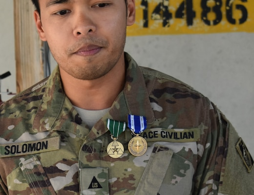 A very solemn Solomon reflects on his tour and the mission at hand in Afghanistan.