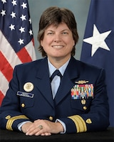 Photo of Rear Admiral Laura M. Dickey