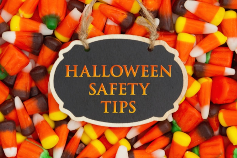 Don't forget to have safety in your bag of tricks and treats this year