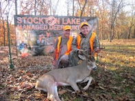 Adam Lamb, Mt. Vernon, Mo., harvested this 15-point buck on Nov. 7, 2015 during the Stockton Lake Managed Deer Hunt.