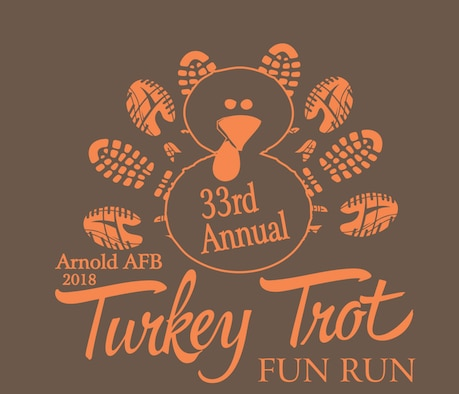 2018 Arnold Air Force Base Turkey Trot logo