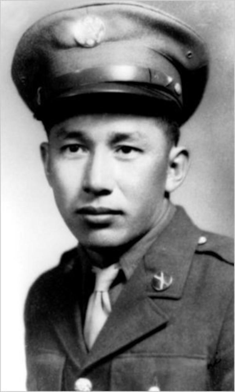 Official Army Pvt. Barney Hajiro photo