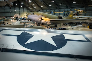 DAYTON, Ohio -- The WWII Gallery at the National Museum of the U.S. Air Force. (U.S. Air Force photo by Ken LaRock)