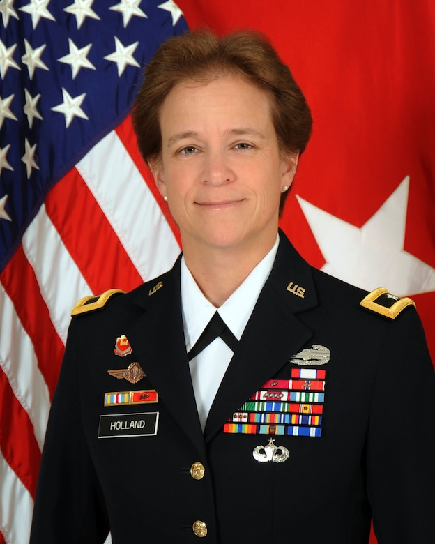 Portrait of Brigadier General Diana M. Holland, South Atlantic Division Commander