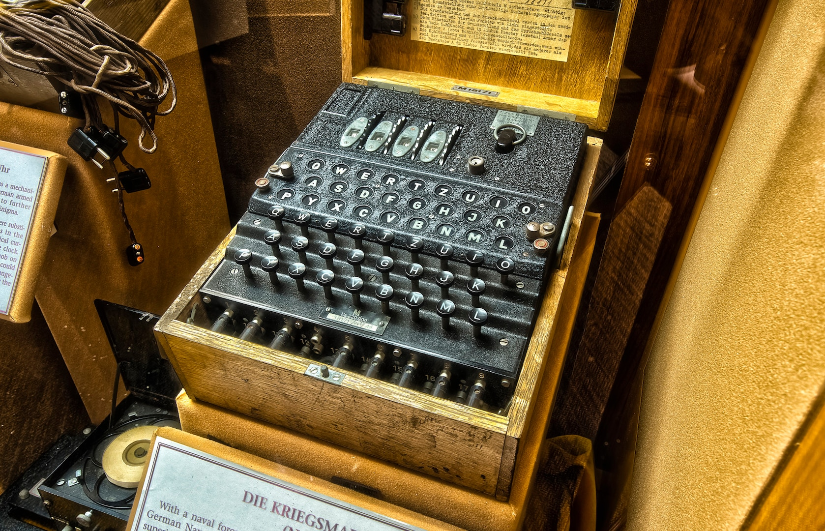 The Enigma Machine