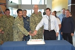 DLA Distribution celebrates 243rd Navy birthday