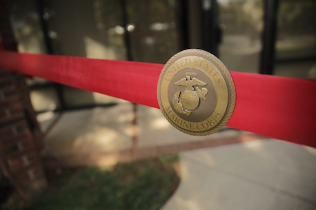 The Marine Corps Recruiting Command celebrates the opening of Marine Recruiting Station Charlotte, North Carolina, during United States Marine Corps' 2018 Marine Week in Charlotte, September 5, 2018. The Marine Corps is committed to attracting, mentoring and retaining the most talented men and women who bring a diversity of background, culture and skill in service to our nation. Marine Week Charlotte is the premier community engagement event that each year allows the Marine Corps to connect with citizens of great American cities, generating awareness and maintaining mutual understanding and support between the Corps and those it serves. (Marine Corps photo by Lance Cpl. Naomi Marcom)