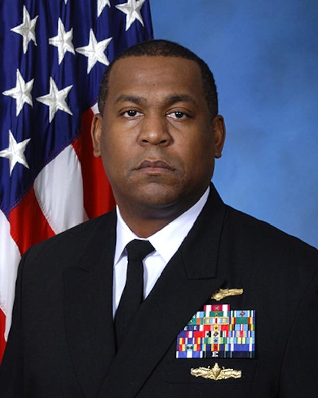Captain Donovan Oubré, USN